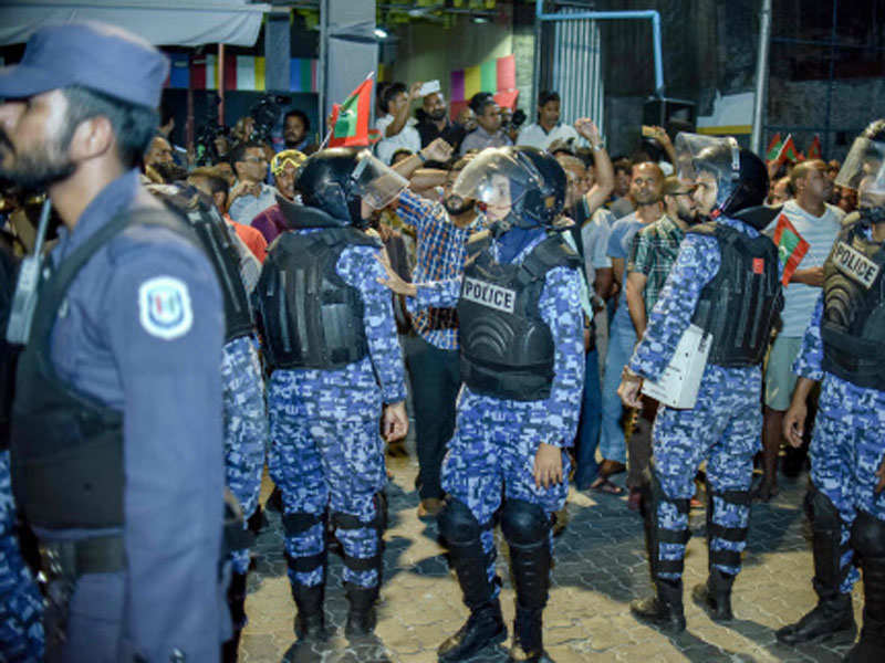 Maldives warns India against interfering in its internal affairs - Times of India
