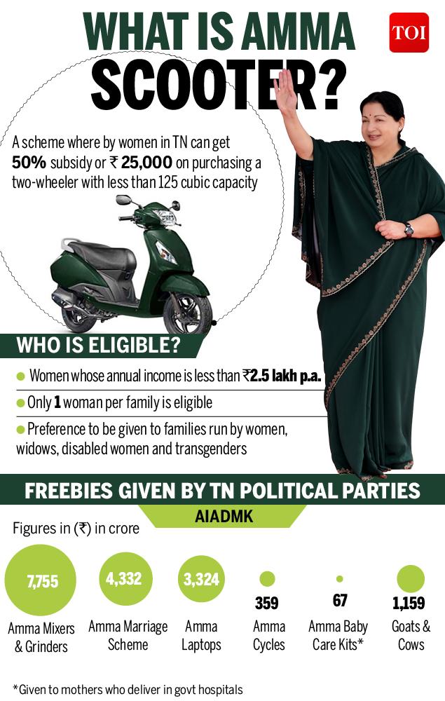 PM Narendra Modi launches Amma scooter scheme, says it will