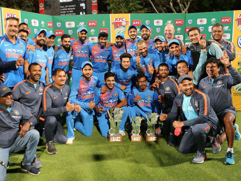 India v South Africa: India wind up South Africa tour by winning T20I series