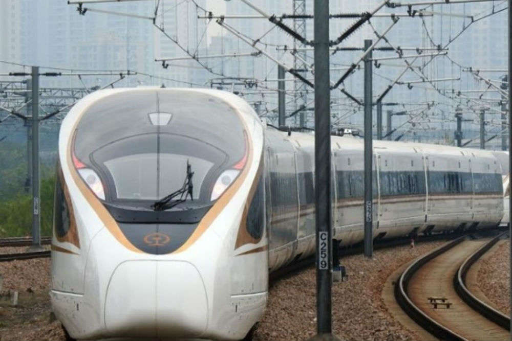 China is developing bullet trains that will run at a speed of 400 kmph and 600 kmph