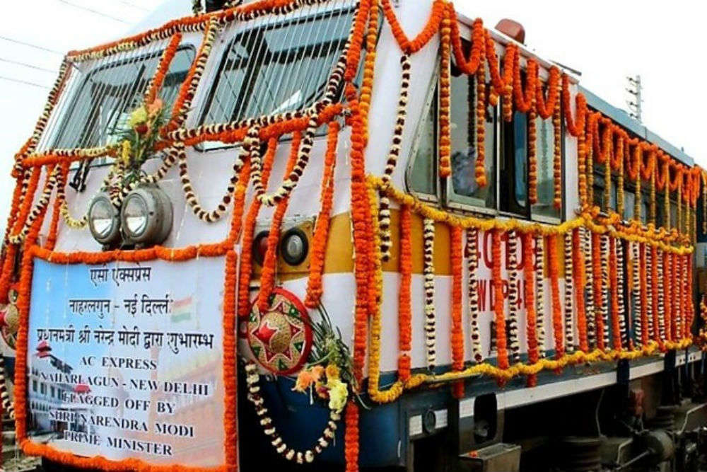 Indian Railways introduces Arunachal Express AC from North East to New Delhi