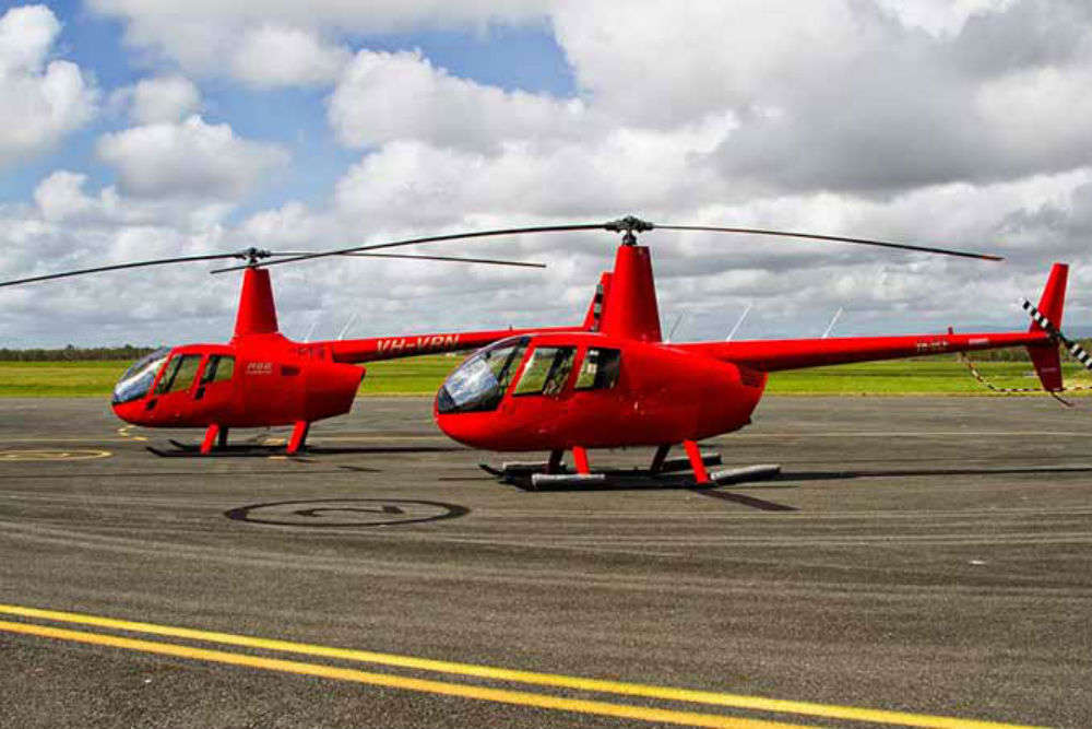 Heli Taxis in Bangalore have started flying for the first time