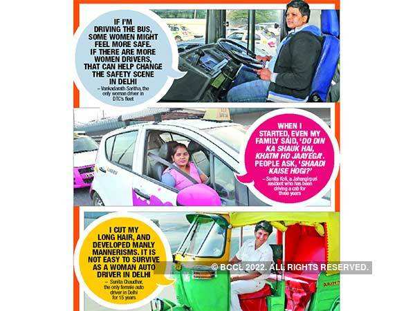 Speeding Past Stereotypes On Women S Day Delhi Women Drivers Talk About Their Experiences Delhi News Times Of India