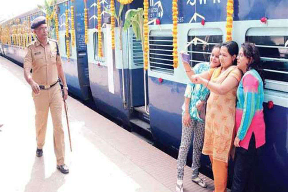 Selfie points at railway stations might soon turn into reality
