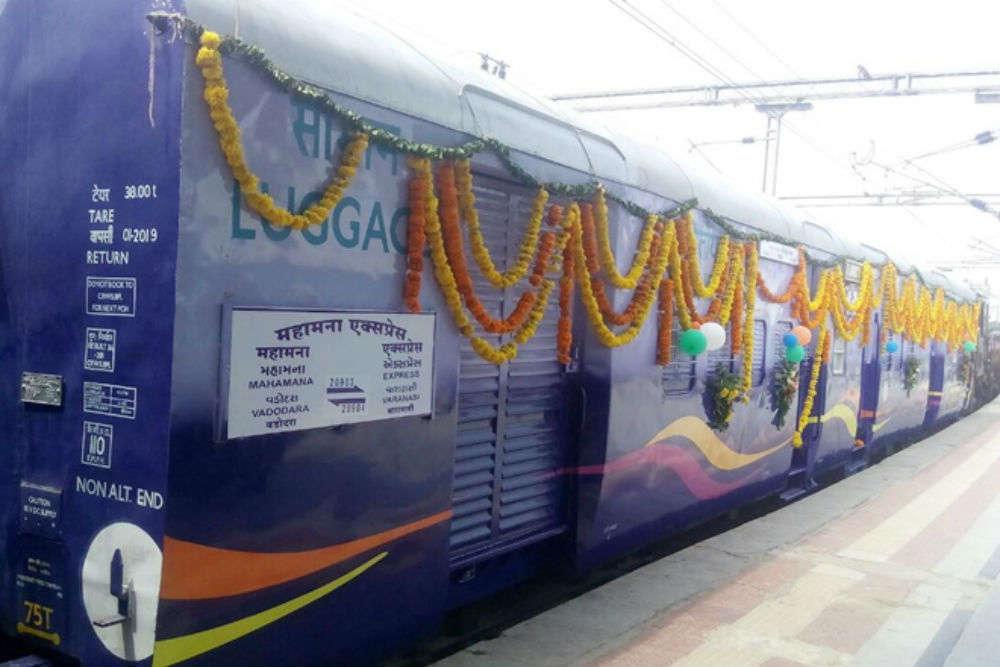 Varanasi-Patna Mahamana Express flagged off by PM Modi today