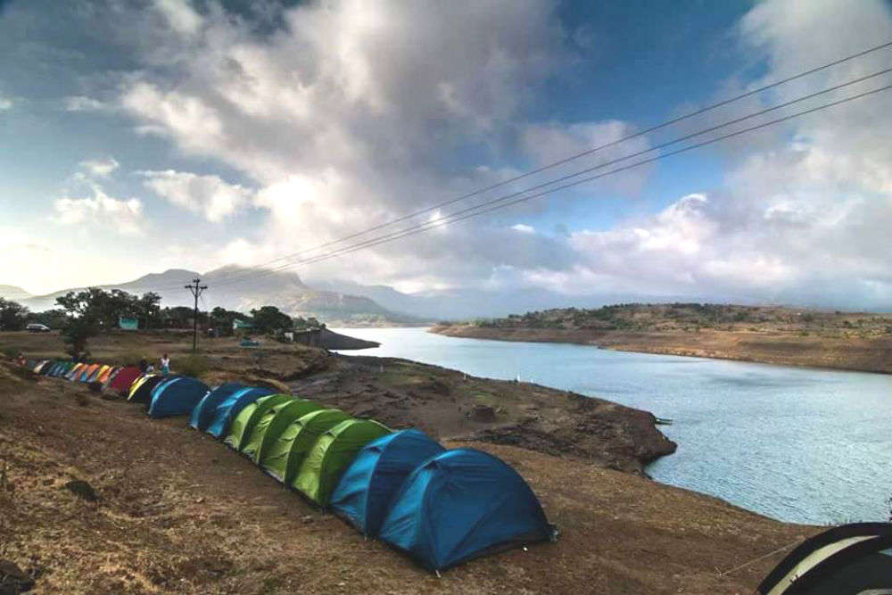The best places near Mumbai for camping on March weekends!