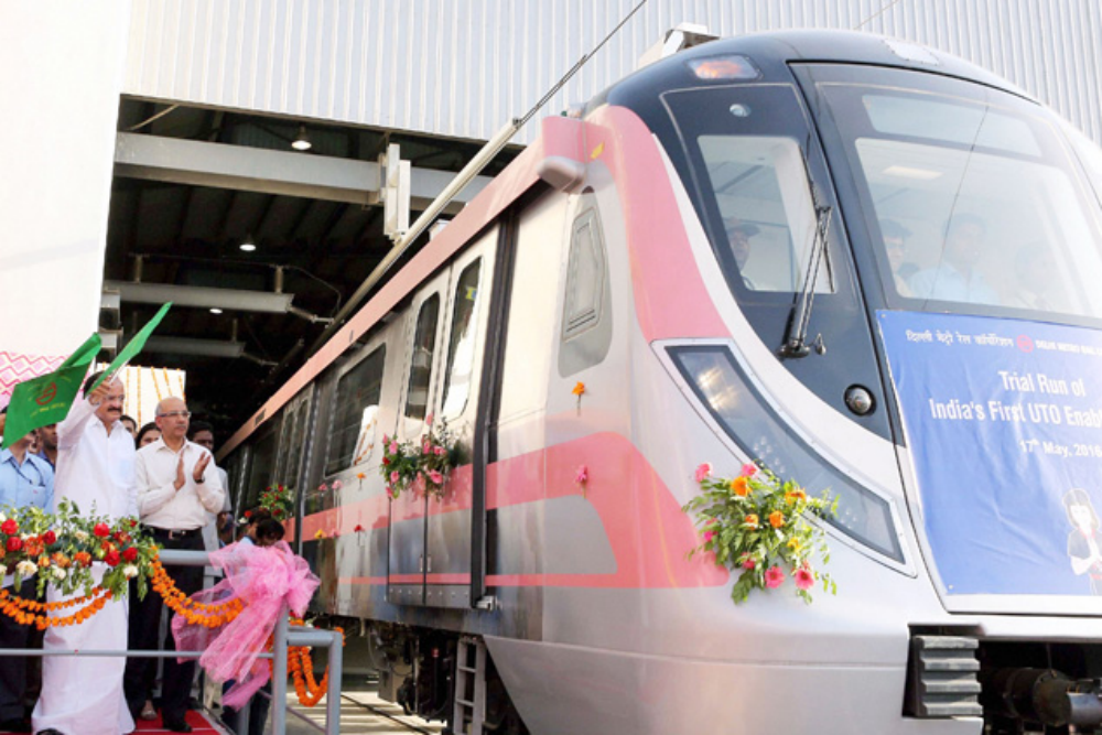 Delhi Metro Pink Line enables travel from North to South Delhi in 40 mins