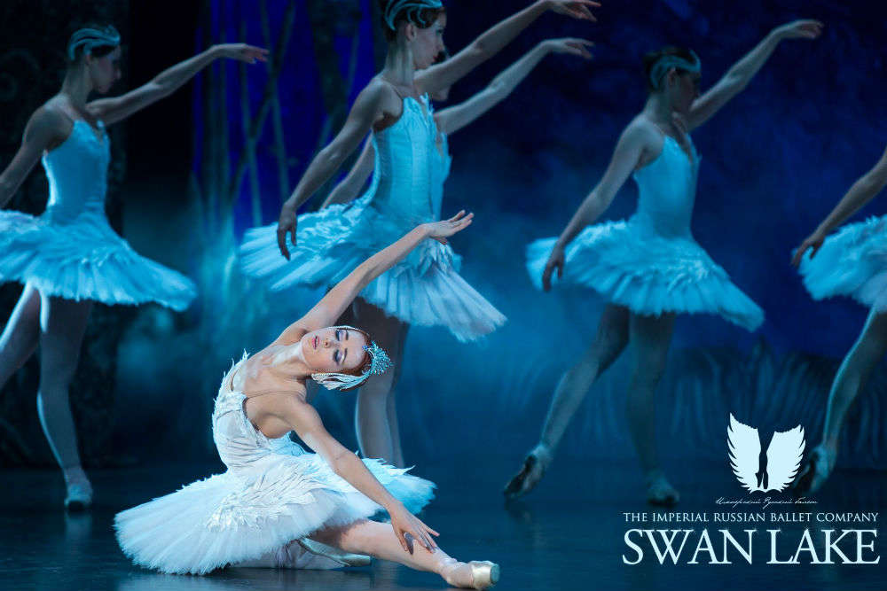 Swan Lake, the Royal Russian Ballet, is performing in Mumbai