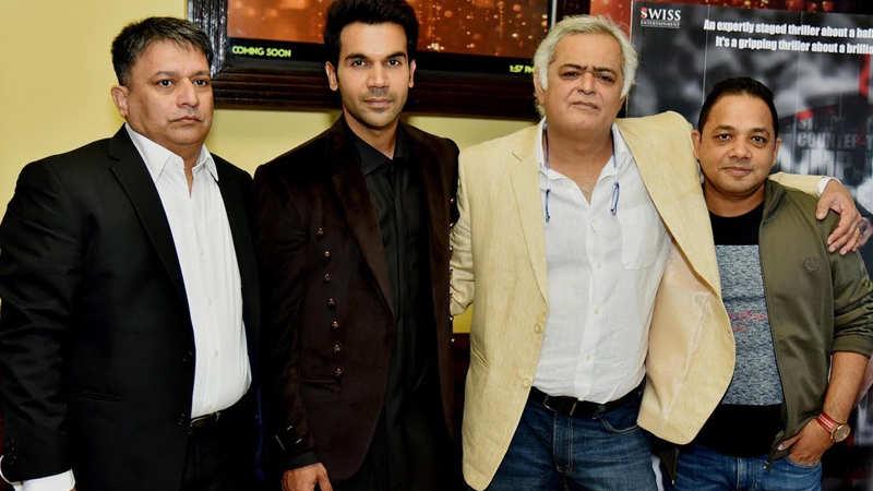 Rajkummar Rao and Hansal Mehta launch 'Omerta' trailer in Delhi