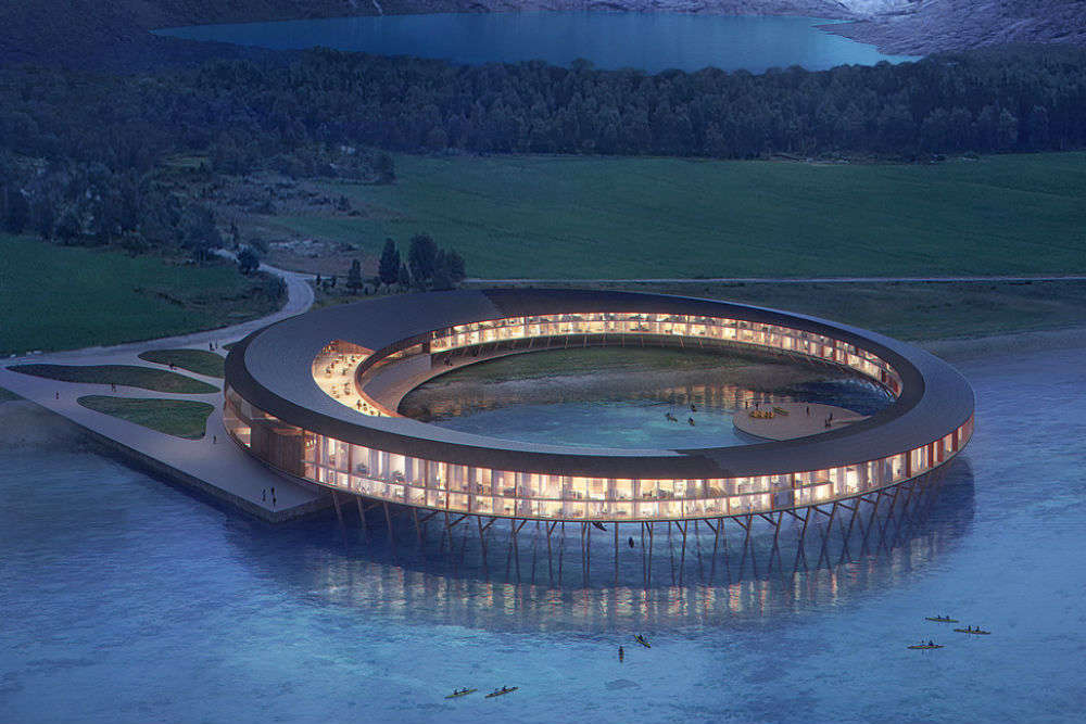 Norway to build world's first energy positive hotel
