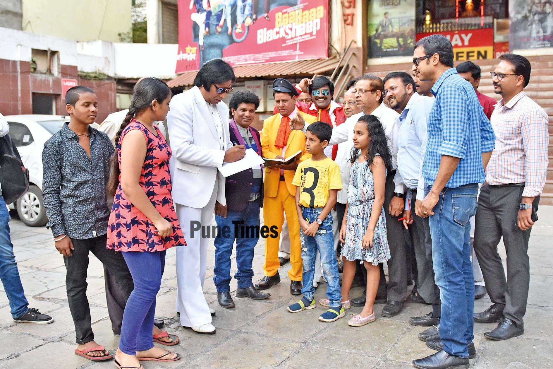 sabu ramesh tiwari: In celebrity shoes | Pune News - Times