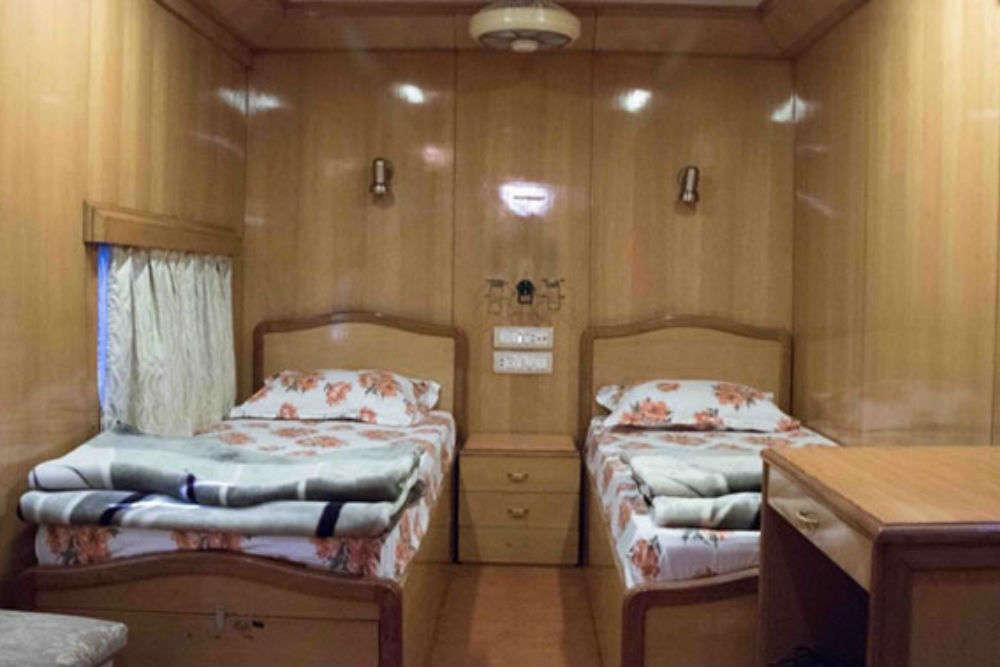 Indian Railways' luxurious saloon coach opens for public