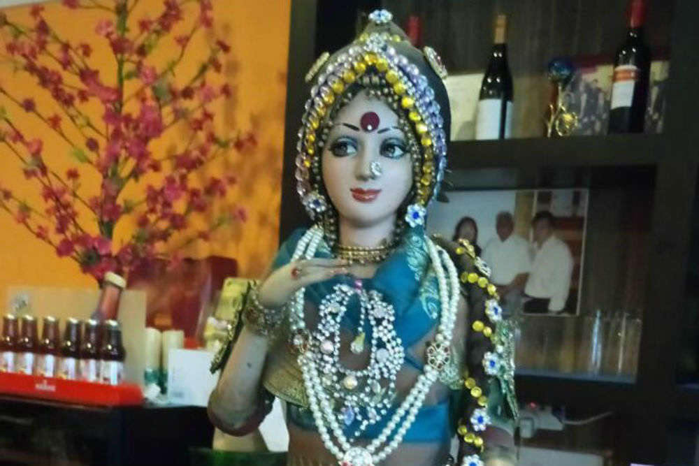 Sridevi look-alike doll gets more attention than the food at this restaurant in Singapore