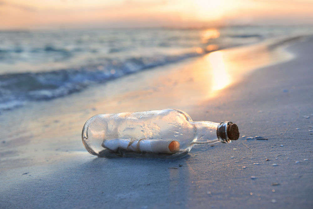 Boy in Bermuda finds mystery message in a bottle thrown 4 years back into the sea