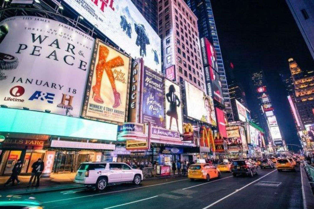 India to get its very own Times Square in Bengaluru