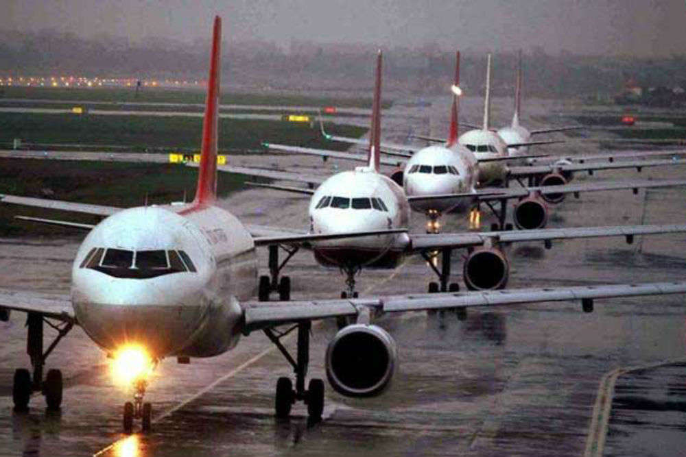Domestic air traffic increased by 24 percent in February