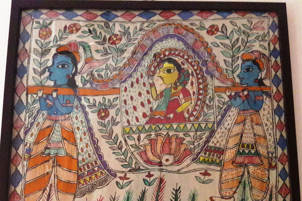 Bihar's Madhubani railway station gets an arty makeover, attracts admirers