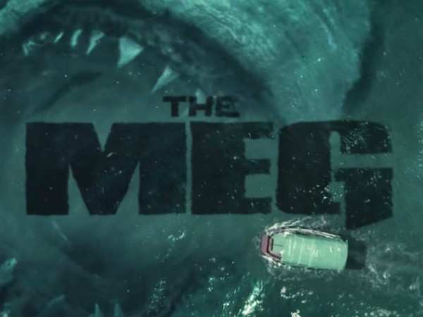 The Meg Trailer Is Simply Scary English Movie News Times Of India