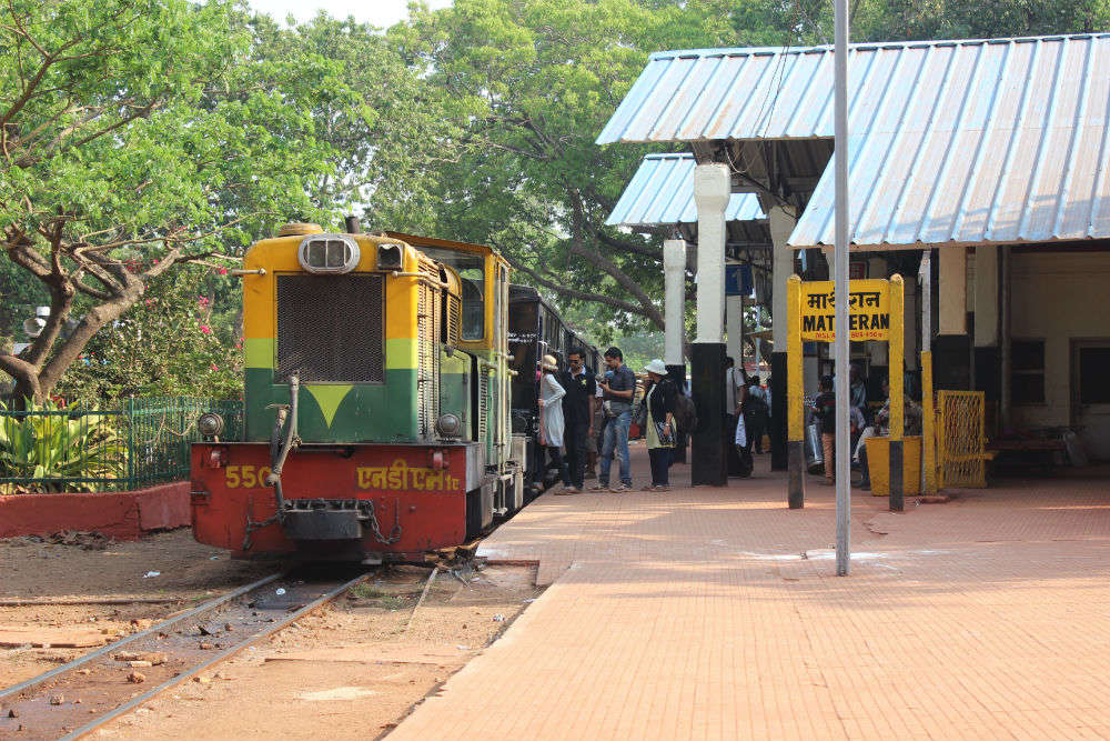 Central Railways to promote Matheran-Neral toy train package