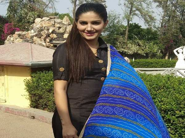Bigg Boss 11 contestant Sapna Chaudhary doing item number in