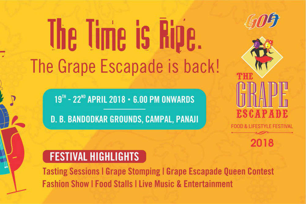 Goa Tourism to host two best events of the year in April