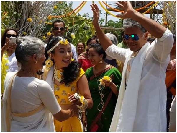 Milind Soman to tie the knot with girlfriend Ankita Konwar on Sunday - Times of India ►