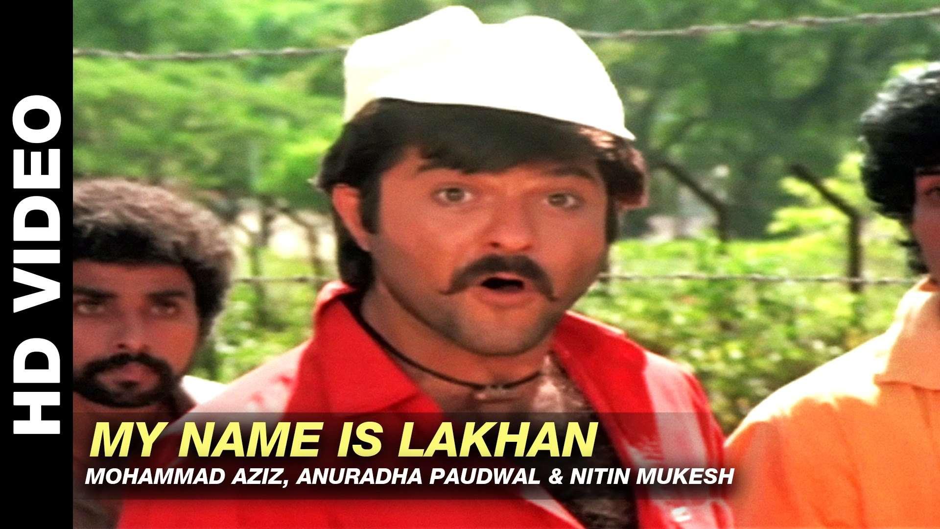 Ram Lakhan   Song - My Name Is Lakhan