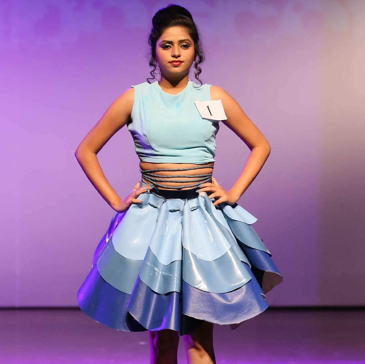 Rukhmini Auditorium Of Mgm City Based Fashion School Put Up A Spectacular Fashion Show Events Movie News Times Of India