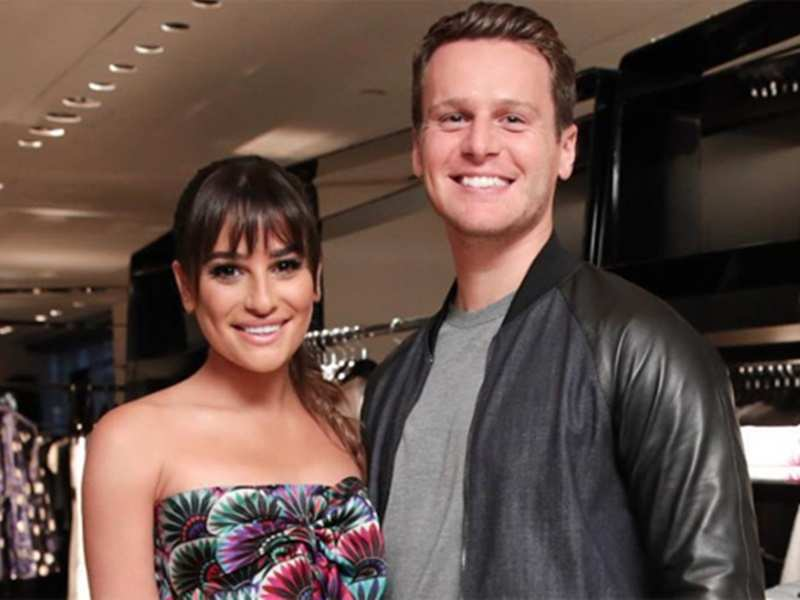 Image result for Glee star Lea Michele gets engaged to Zandy Reich