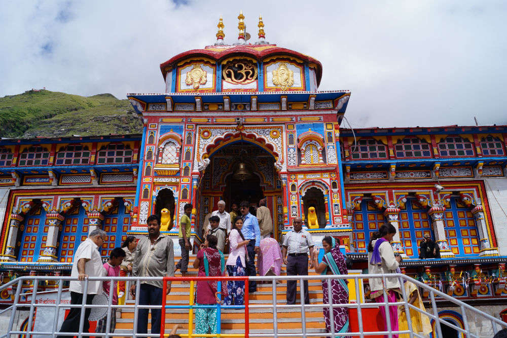 Badrinath shrine doors flung open for pilgrims