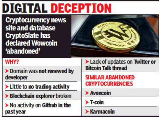 wowcoin: Wowcoin? Woman loses Rs 18 lakh in cryptocurrency