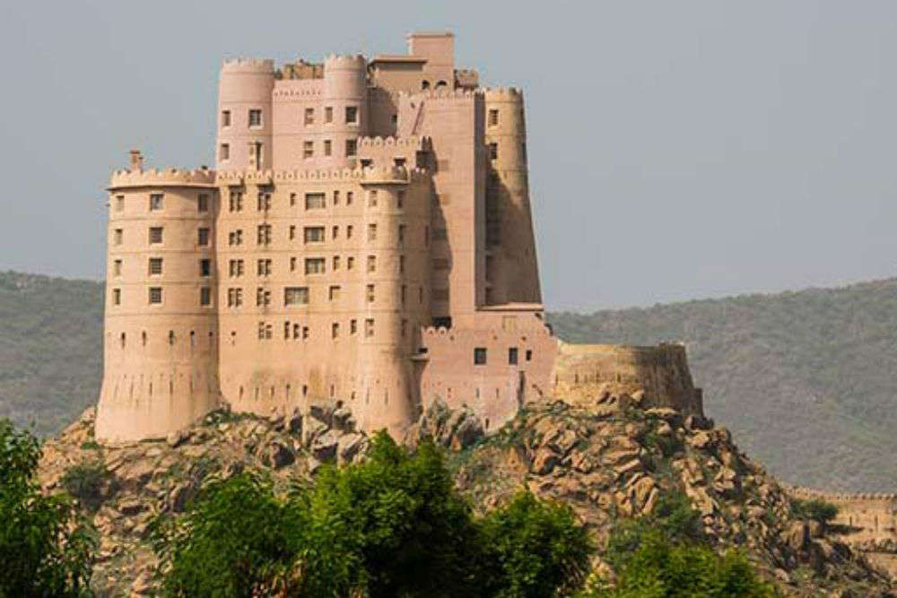 Fort Bishangarh, a 230-year-old fort is now a luxury resort