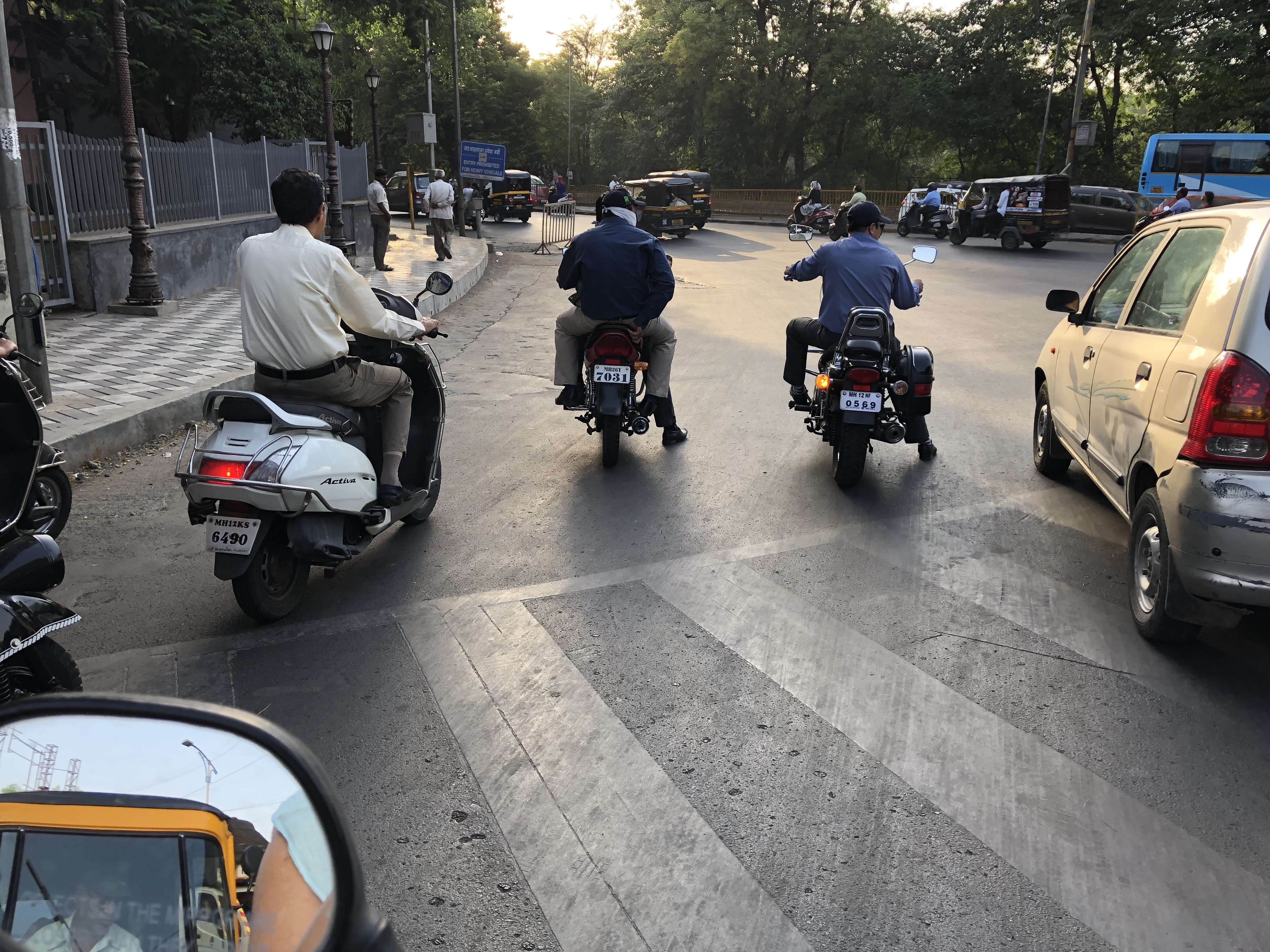 Breaking Traffic Signals