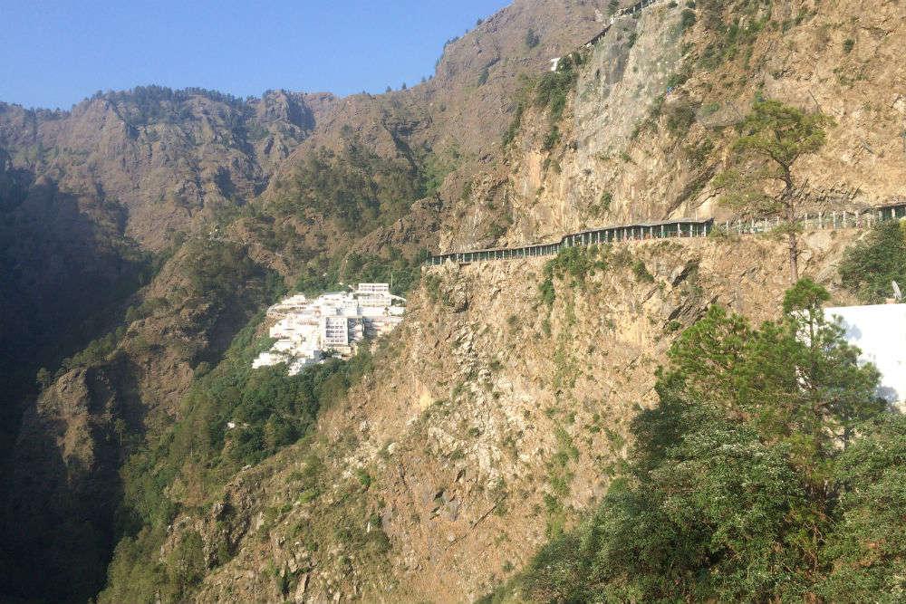 A 7 km alternate route to Vaishno Devi Temple thrown open for pilgrims