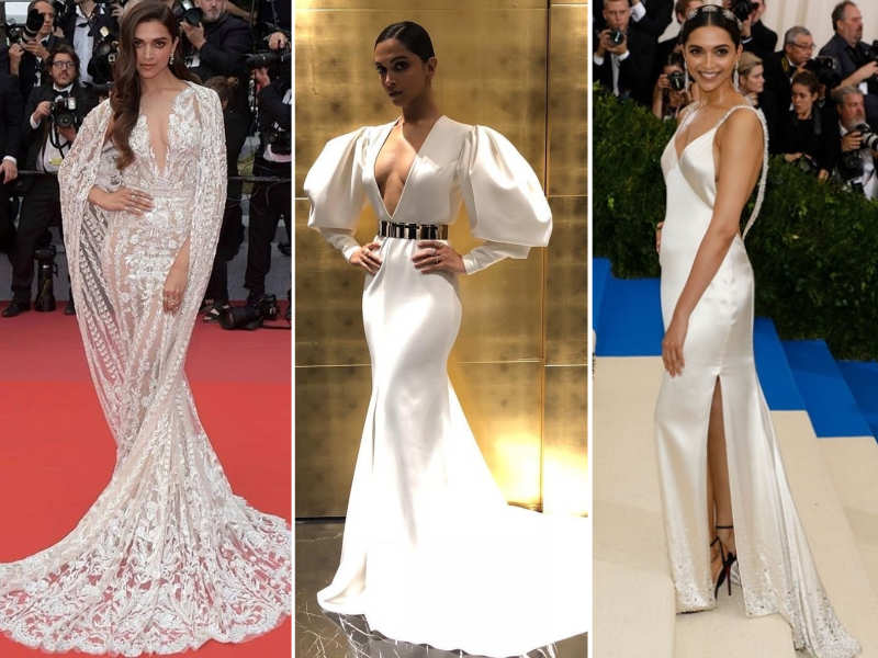 Deepika Padukone is obsessed with white gowns and here\'s proof ...