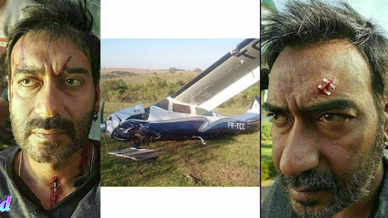 Ajay Devgn's helicopter accident rumors a hoax