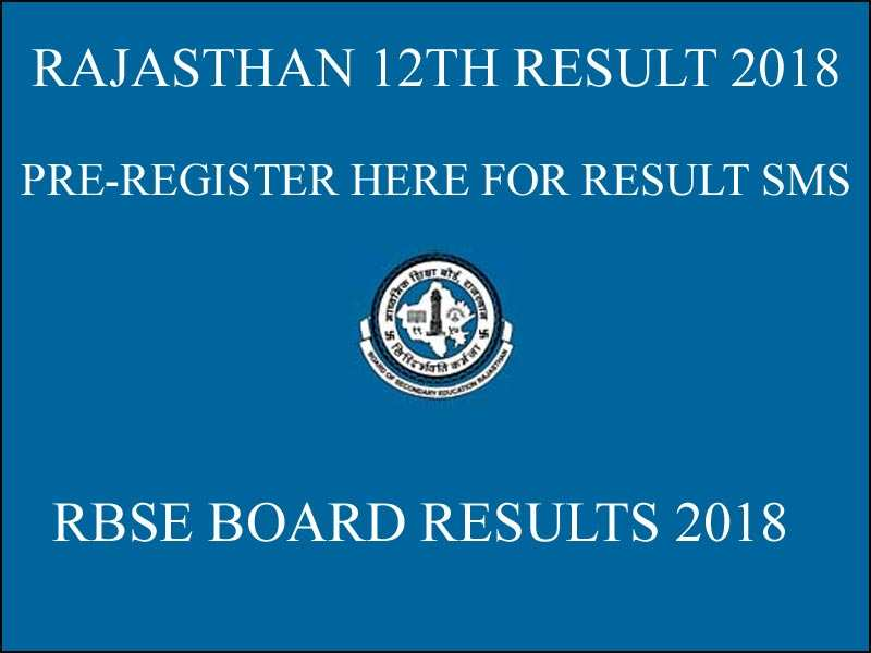 RBSE 12th result 2018: Rajasthan Board to announce Class 12 result