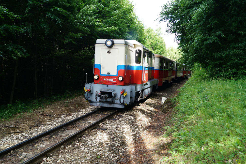 Would you mind hopping aboard a train run by children in Budapest?
