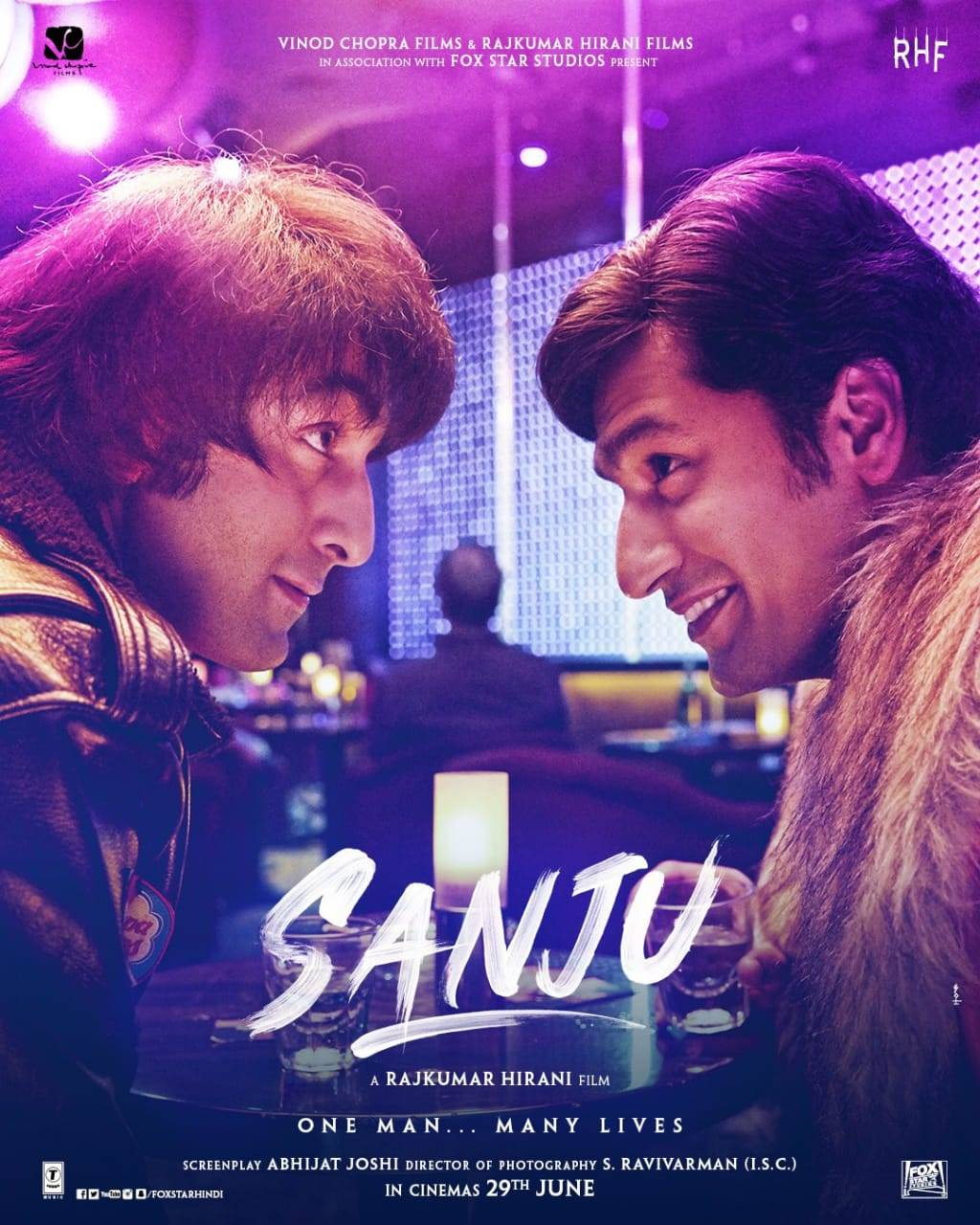 Sanju new poster out