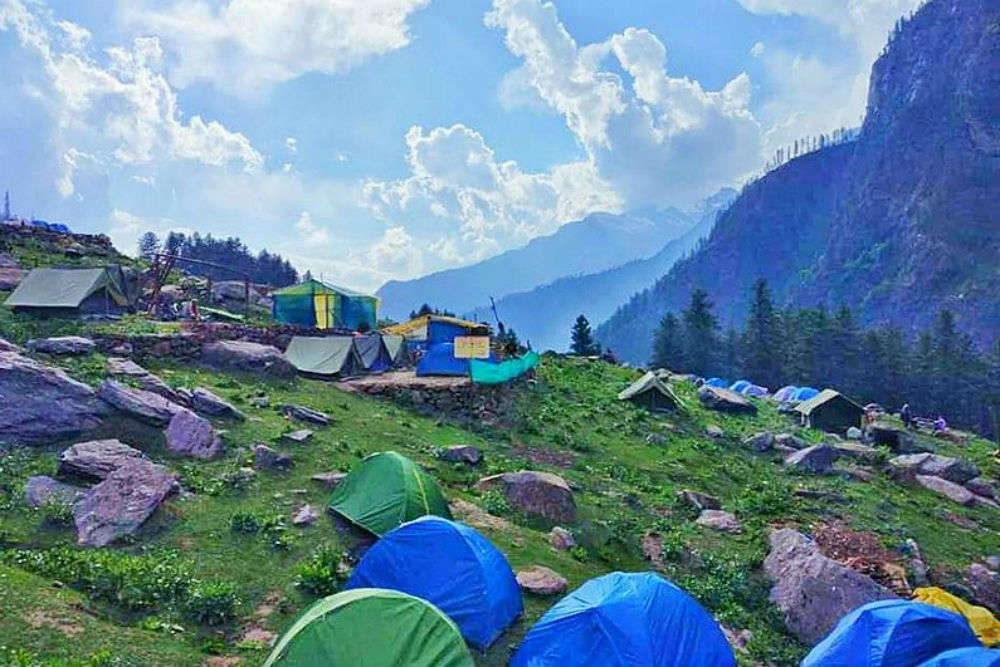 No more camping, eating and littering in Kheerganga now
