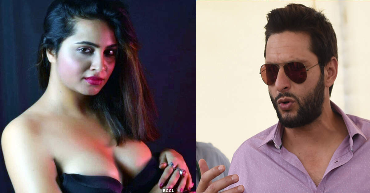 Arshi Khan clears air over her tweet about having sex with Shahid Afridi