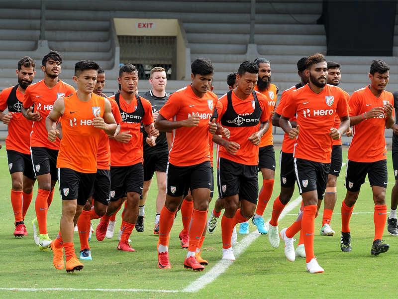 India vs Kenya Football: Sunil Chhetri scores a brace as