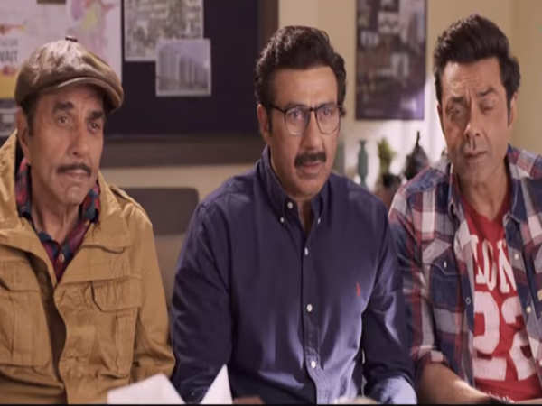'Yamla Pagla Deewana Phir Se' teaser: This ride with the Deols is a laugh riot - Times of India ►