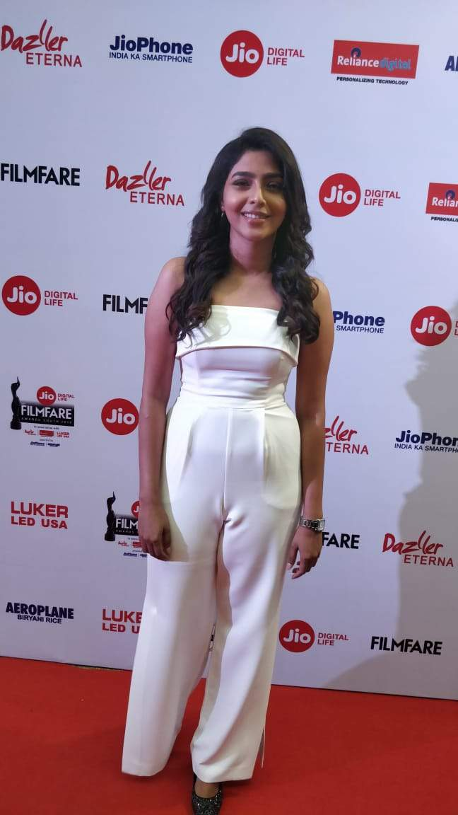 Aishwarya Lekshmi nominated at the 65th Jio Filmfare Awards
