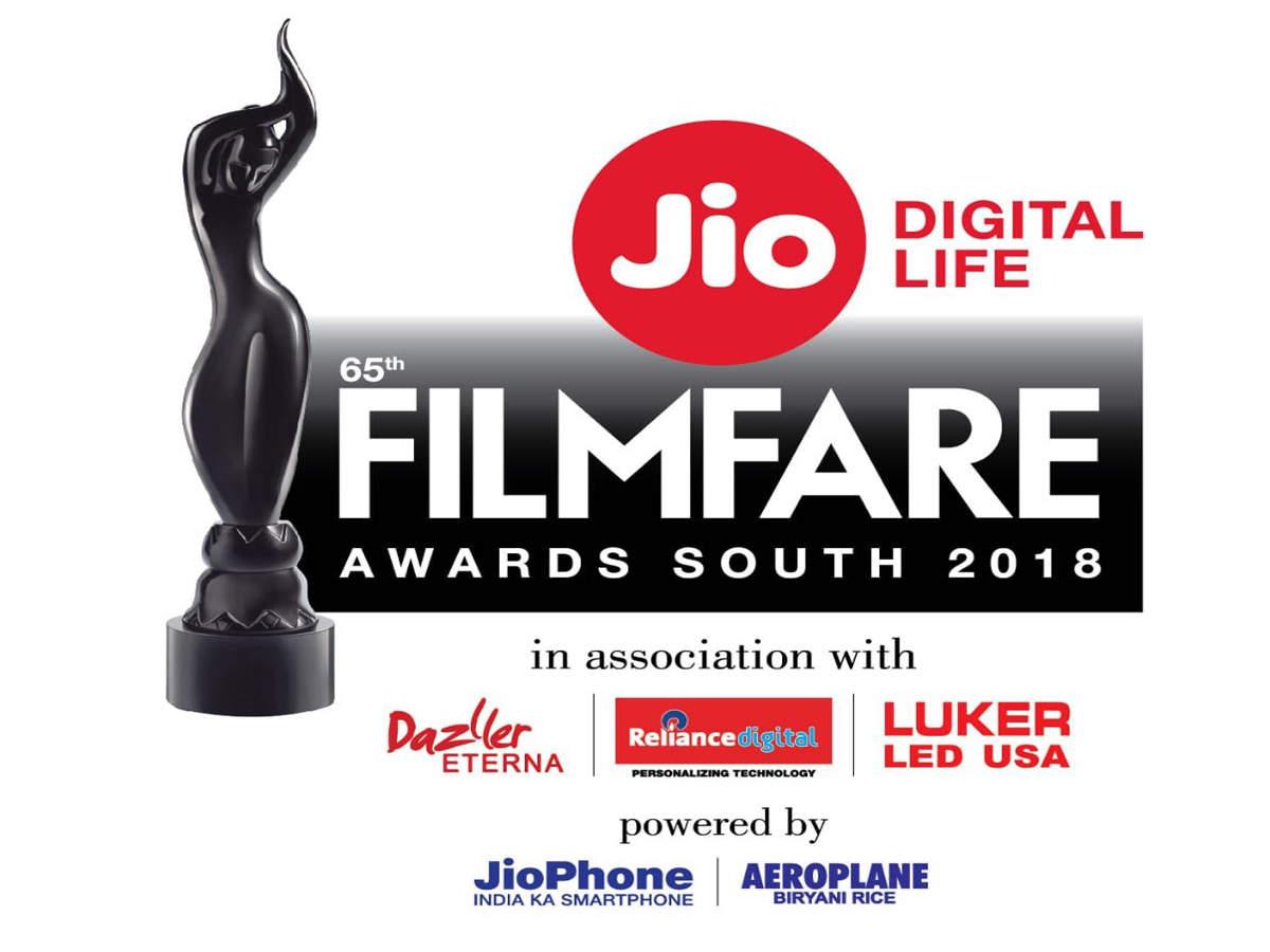 65th Jio Filmfare Awards South 2018: Complete winners' list