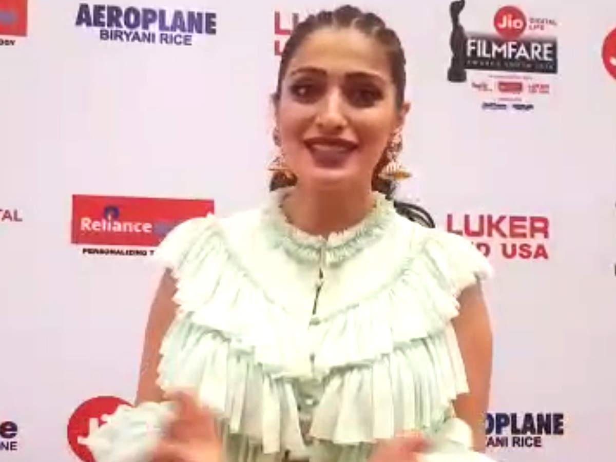 Raai Laxmi talks about her performance at the 65th Jio Filmfare Awards  (South) 2018