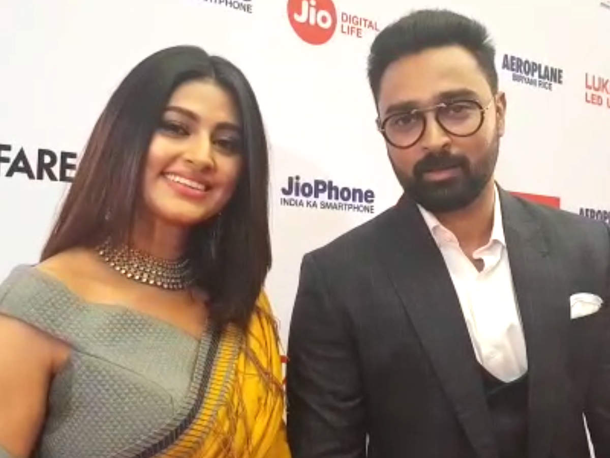 Sneha and Prasanna share their dream at the 65th Jio Filmfare Awards  (South) 2018