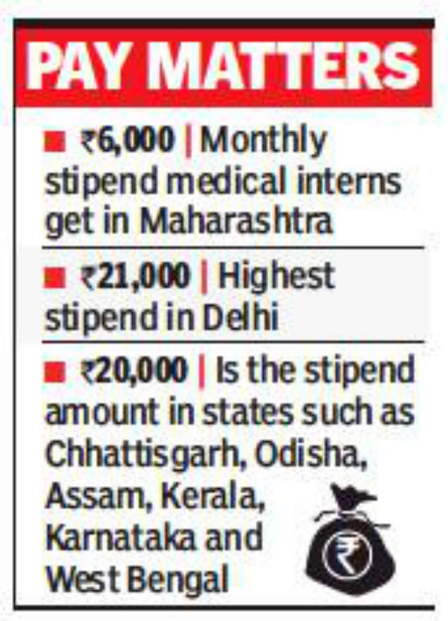 medical interns strike: Medical interns strike for hike in