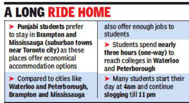CANADA DREAMS: Punjabi students' Canada dreams end on hard road