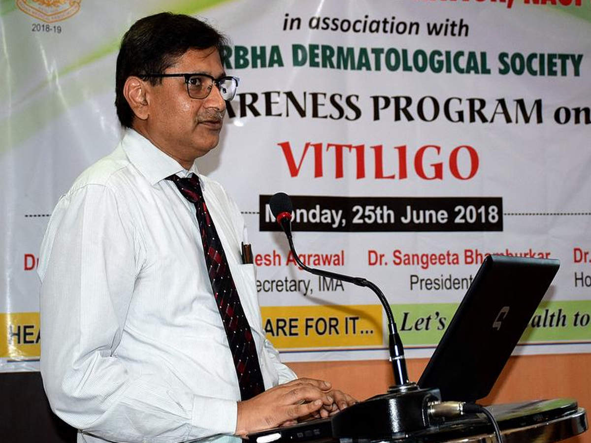 Cure Of Vitiligo Difficult But Not Impossible Doctor Nagpur News Times Of India